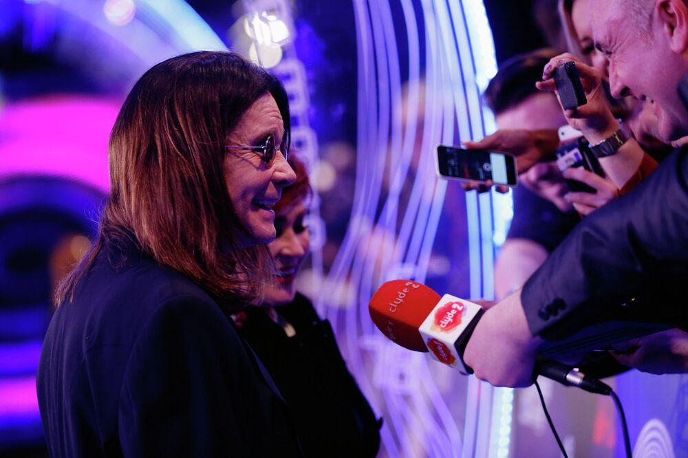 Ozzy Osbourne at the ceremony of MTV Europe Music Awards - 2014