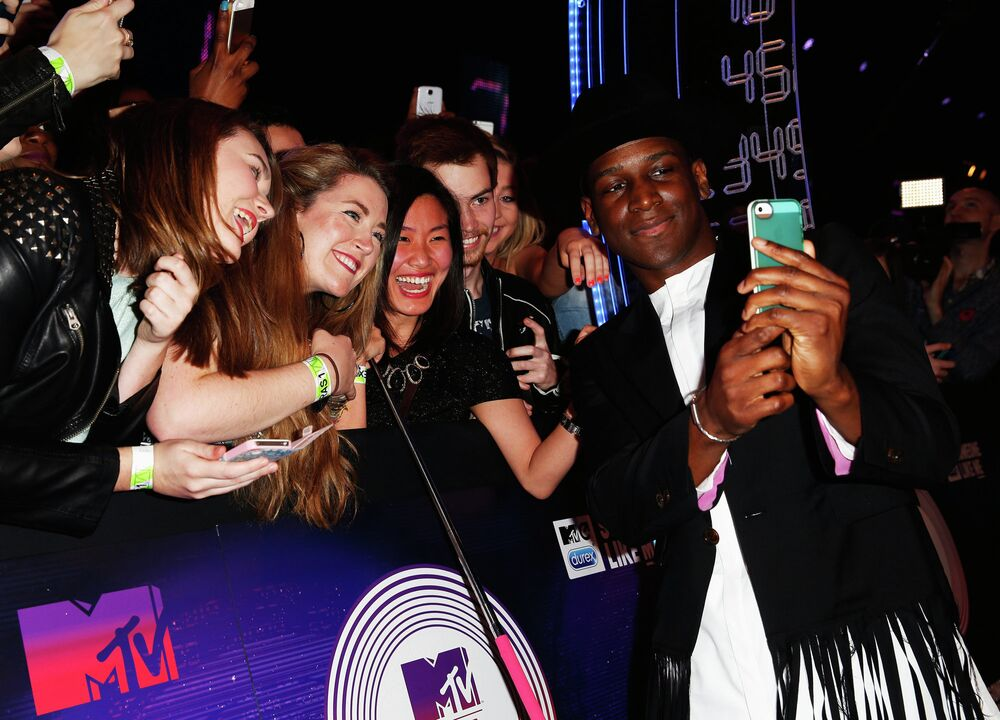British musician Labrinth at a ceremony of MTV Europe Music Awards - 2014