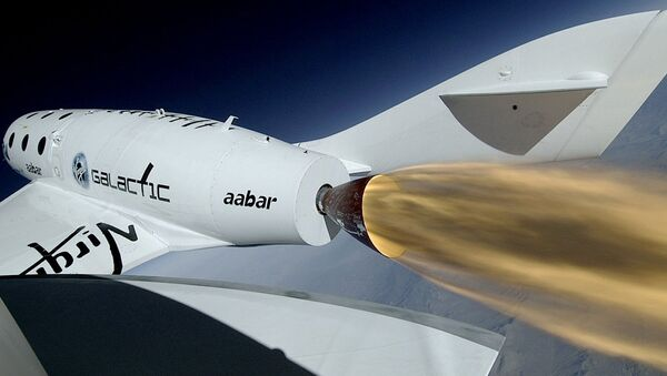 Virgin Galactic SpaceShip Two - Sputnik International