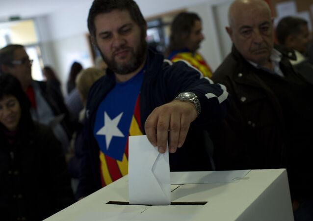 Symbolic vote on Catalan independence