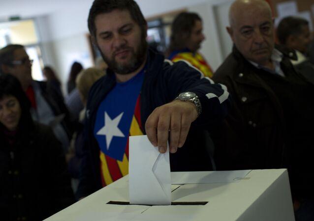 Symbolic vote on Catalan independence
