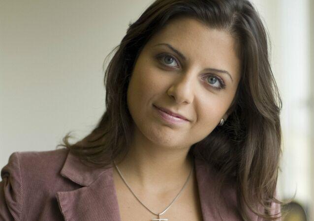 RT's editor-in-chief Margarita Simonyan
