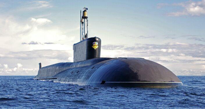Russia's Alexander Nevsky nuclear submarine