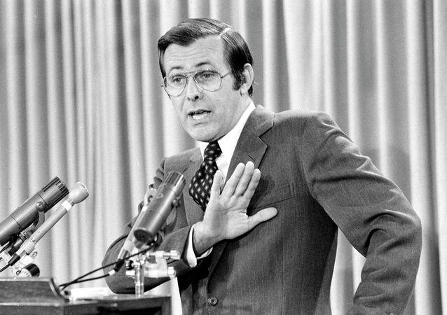 U.S. Secretary of Defense Donald Rumsfeld, 1976