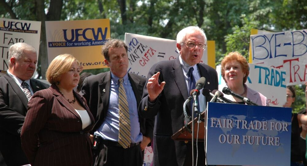 Sanders has said he will run for the presidency in 2016 if no one truly progressive challenges Hillary Clinton.