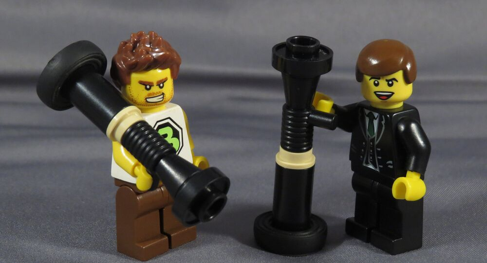 LEGO Man Portable Air Defense System
