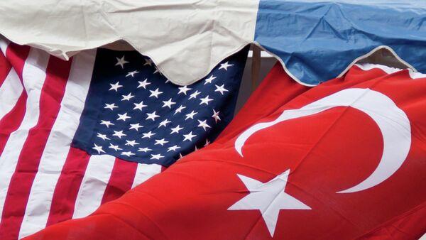 Turkey US Flags - Sputnik International