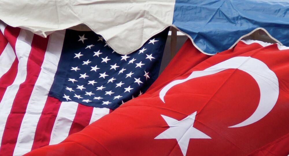 Turkey US Flags