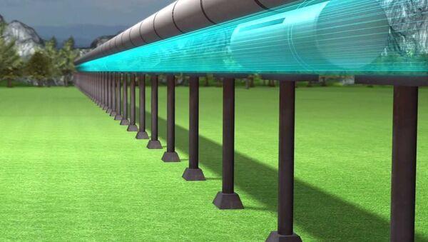 Hyperloop or Bullet Train - Sputnik International