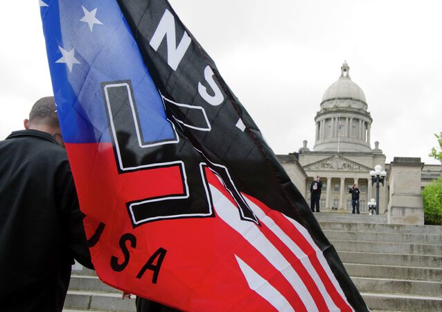 Neo-Nazi rally in Frankfort, Ky