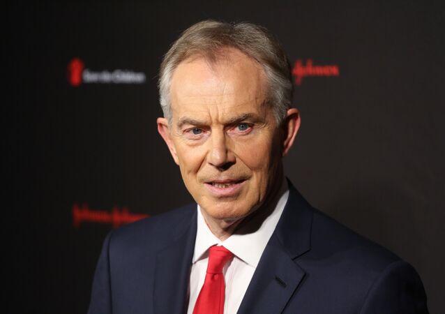 Tony Blair at the Save The Children Illumination Gala in New York