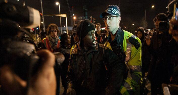 Westfield 'die-in' protest