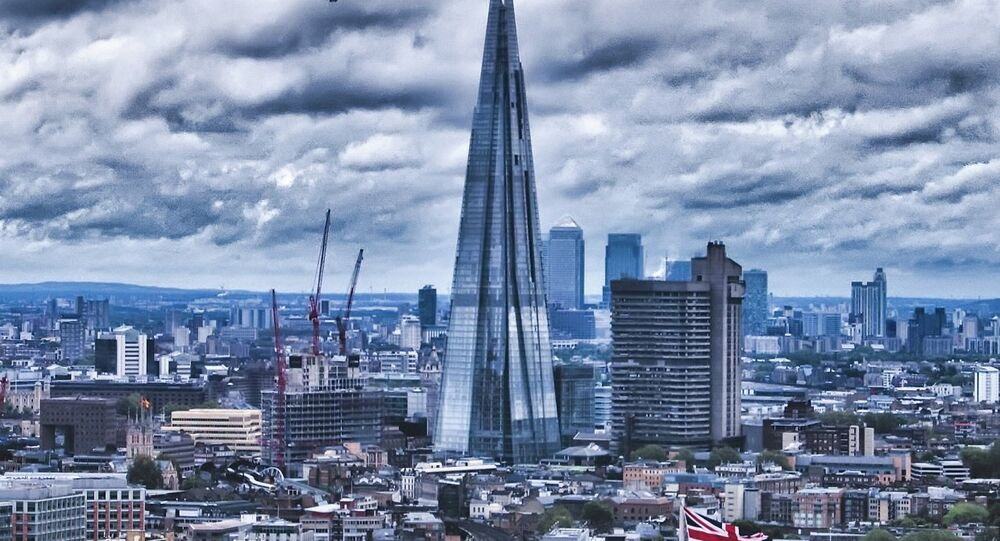 The Shard in London's skyline