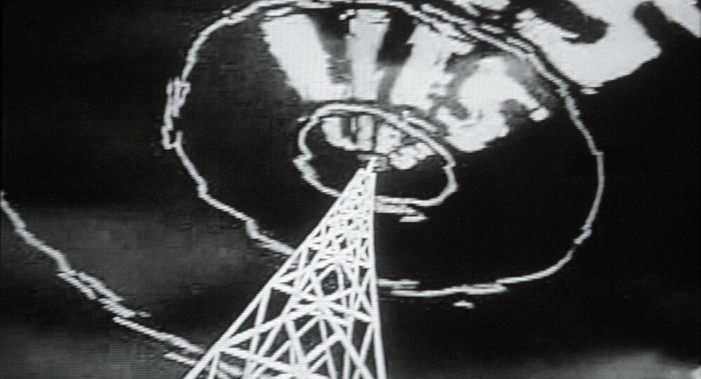 Stills from a U.S. anti-communist propaganda film from the fifties