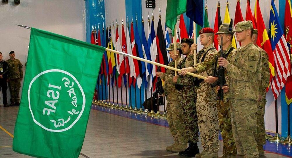 Ceremony marking end of NATO ISAF mission in Afghanistan