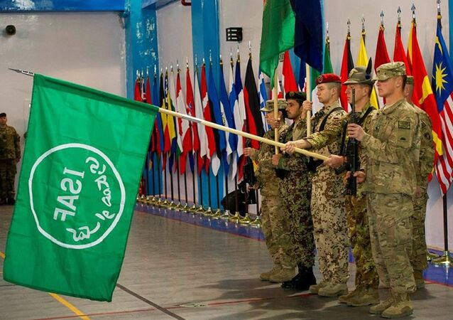 Ceremony marking end of NATO ISAF mission in Afghanistan