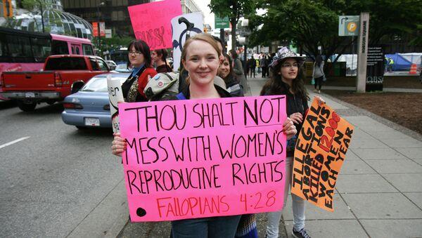 Abortion protest - Sputnik International