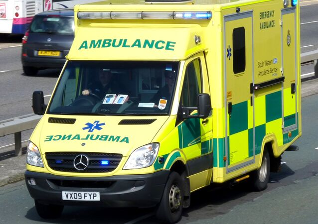 NHS ambulance car