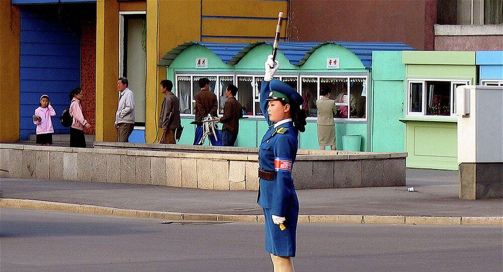 Pyongyang traffic symbol