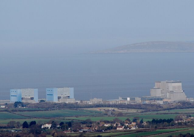 Hinkley Point nuclear power station at Somerset