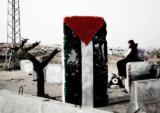 The border between Gaza and Israel