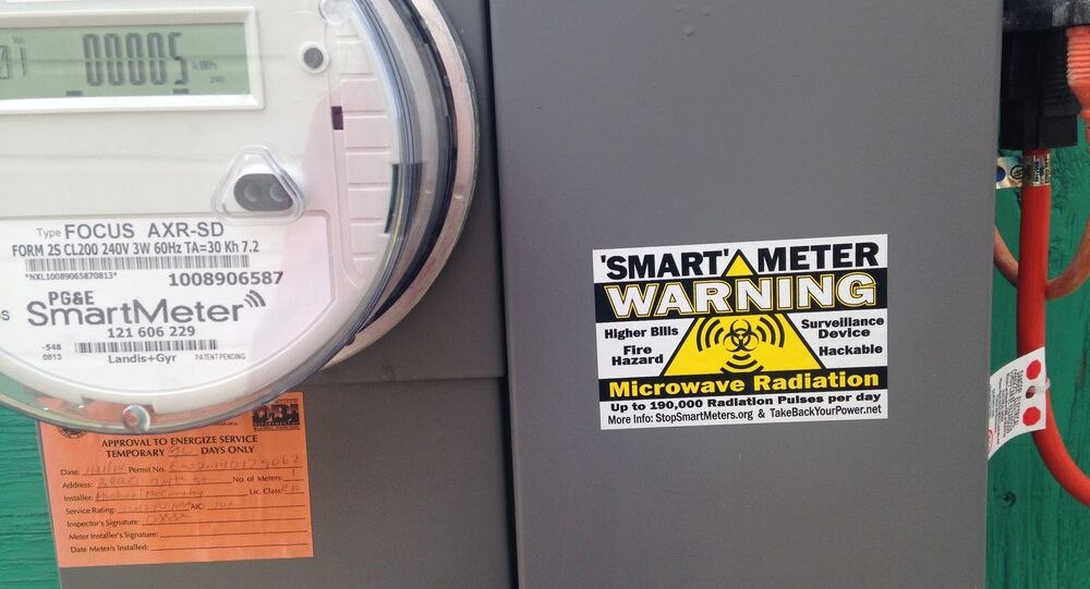 """So-called """"smart meters"""" record energy consumption and transmit that information wirelessly to suppliers."""
