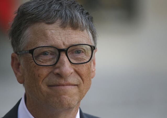 Microsoft founder and philanthropist Bill Gates funds project that will turn human waste into both human drinking water and electricity.