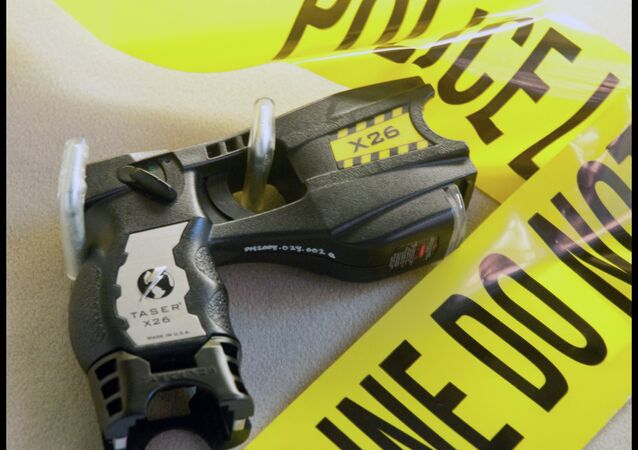 At least 35 people were killed by police Tasers in the United States in the past year