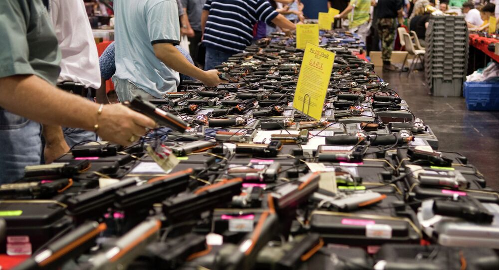 Gun sales boom in the more recent months as a result of the surge in violence in America.