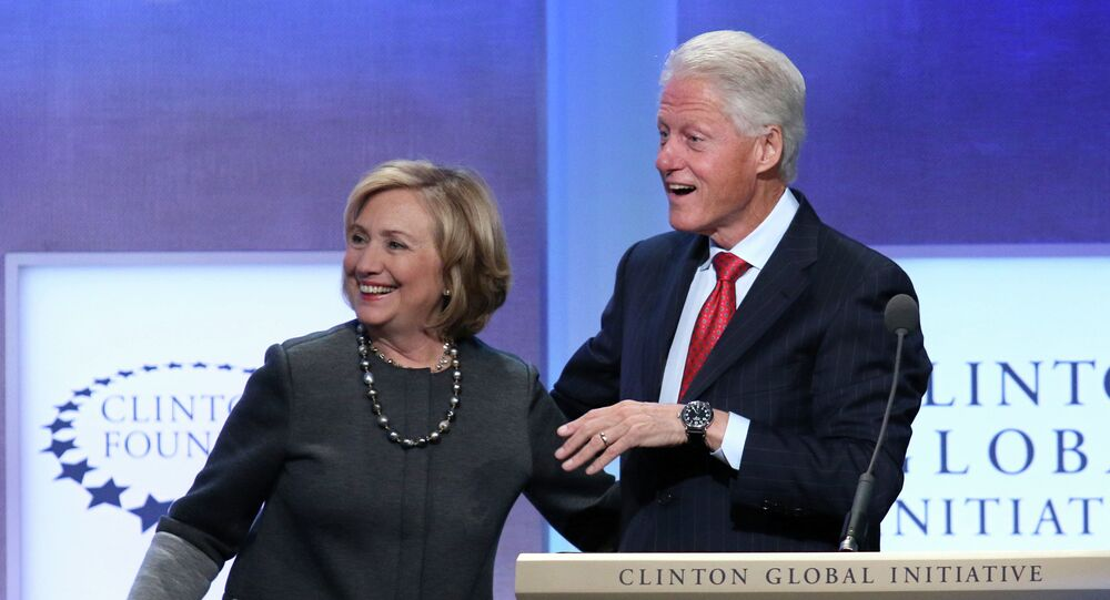 Hillary reportedly livid over Bill's name in a sex ring.