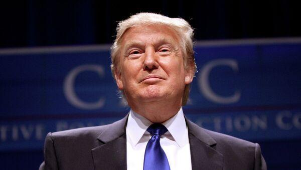 Donald Trump speaking at CPAC 2011 in Washington, DC - Sputnik International