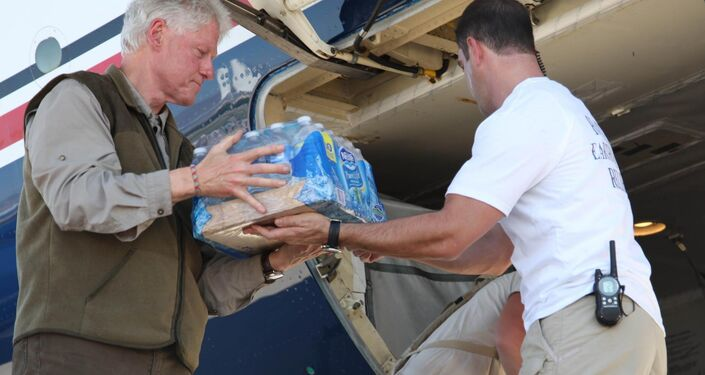 After the 2010 earthquake in Haiti, President Clinton formed the Clinton Foundation Haiti Fund to turn donations of money and supplies into direct relief for the people and government of Haiti, according to the Foundation.