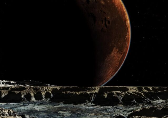 An image of Pluto and Charon From Hydra