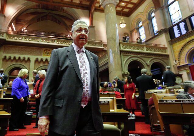 New York State Assembly Speaker Sheldon Silver was taken into FBI custody Thursday morning.