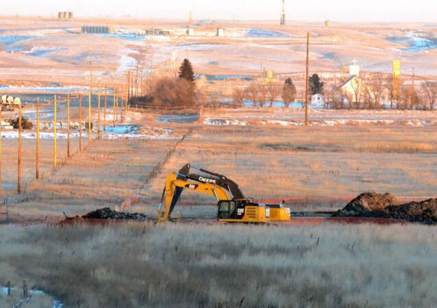 A massive cleanup is underway after workers discovered brine slowly leaking into Blacktail Creek in North Dakota.