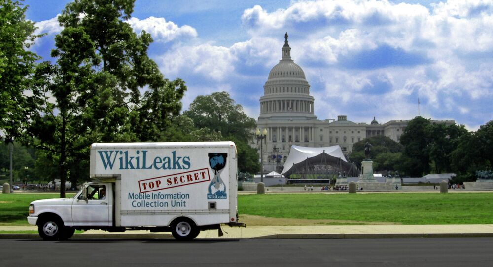 Wikileaks is outraged that the digital data of three of its staffers' was handed over to the FBI by Google.