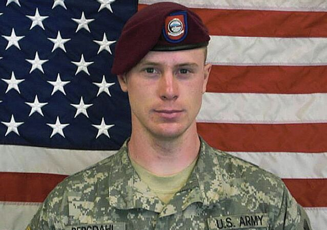 U.S. Army Sgt. Bowe Bergdahl, free by the Taliban in a prisoner swap deal.