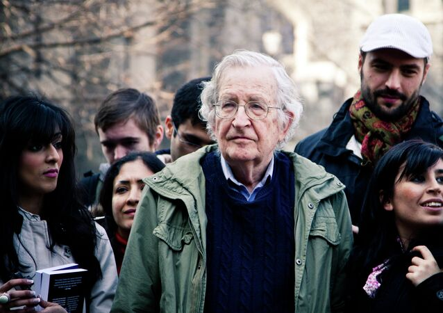 Noam Chomsky accuses American Sniper of being propaganda.