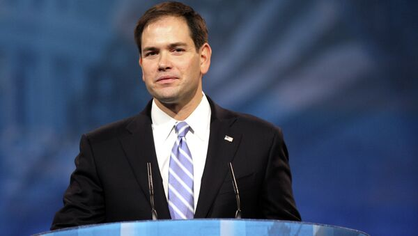 Senator Marco Rubio has called for Congress to permanently extend of the government's post-9/11 surveillance powers. - Sputnik International