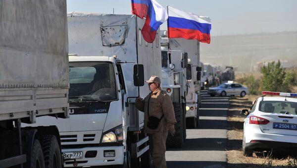 Russia'a humanitarian aid convoy for Eastern Ukraine - Sputnik International