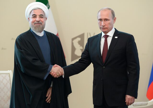 Meeting held as part of the Fourth Caspian summit at the Astrakhan State Opera and Ballet Theatre