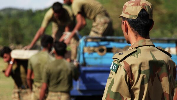 The Chinese Army is training Pakistani military personnel near the troubled Rajouri sector of the international border between India and Pakistan. - Sputnik International