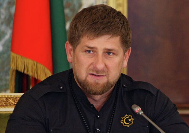 Head of Chechen Republic Ramzan Kadyrov