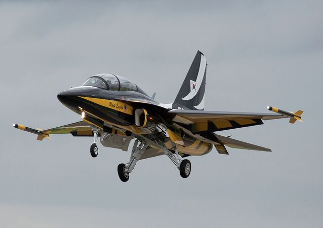 The KAI T-50 Golden Eagle