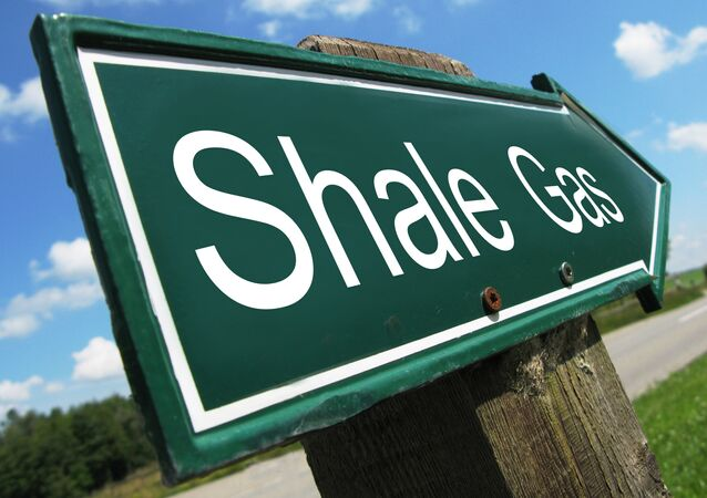 Shale Gas Sign