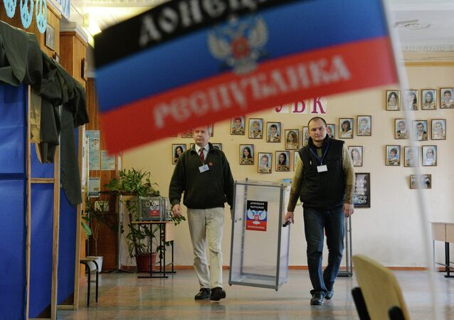 The United States will not recognize the results of the elections, held in the self-proclaimed people's republics of Donetsk and Luhansk (DPR and LPR)