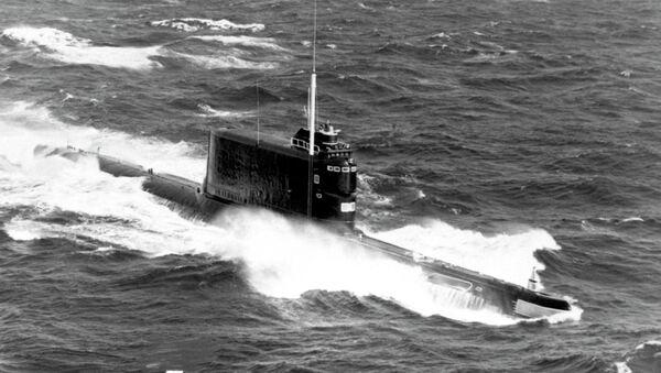 Soviet Golf II class ballistic missile submarine - Sputnik International