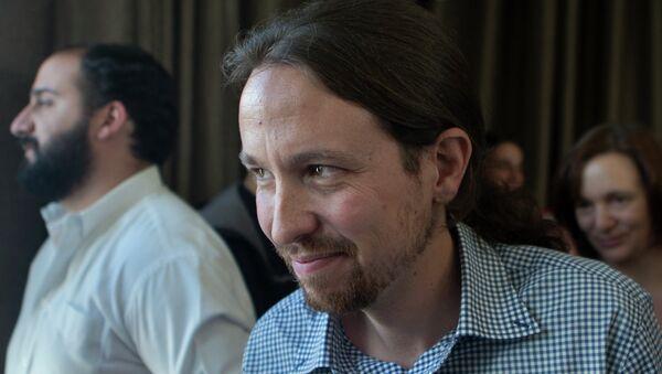 Pablo Iglesias, the leader of the Podemos party - Sputnik International