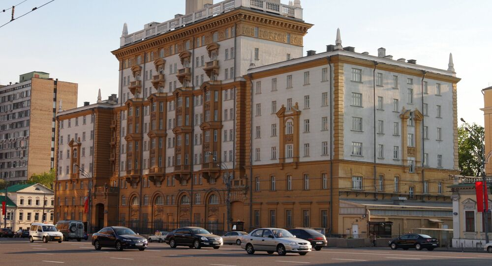 U.S. Embassy in Moscow