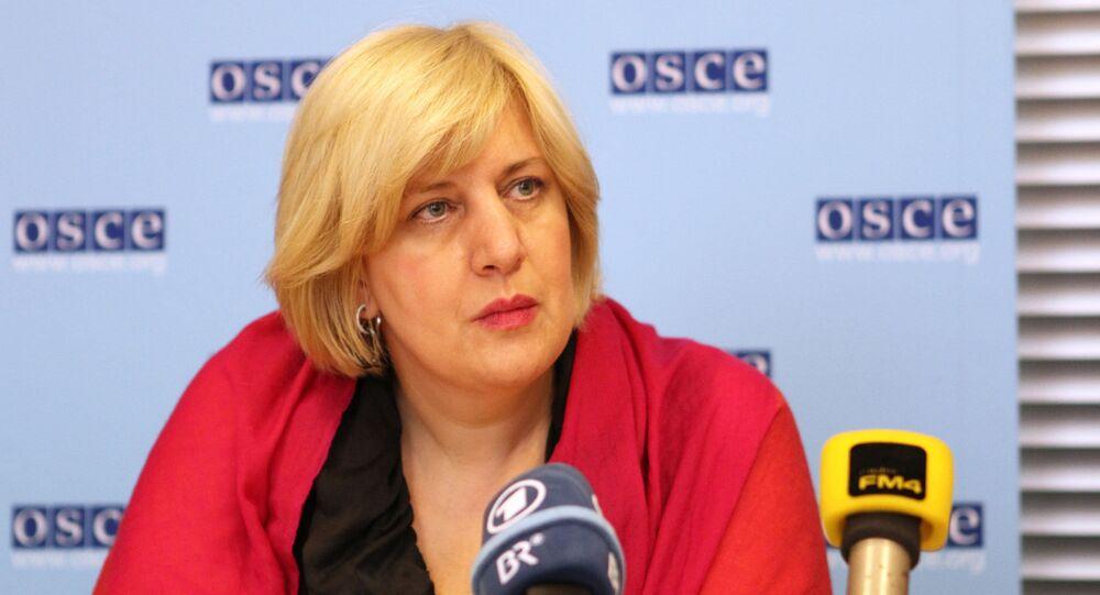 OSCE Representative on Freedom of the Media Dunja Mijatovic